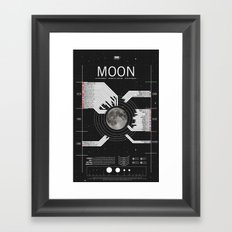OMG SPACE: Moon 1970 - 2025 Framed Art Print