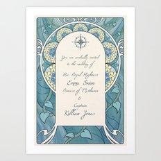 Invitation Art Print