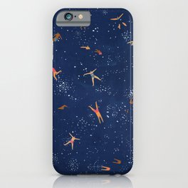 Sky swim iPhone Case