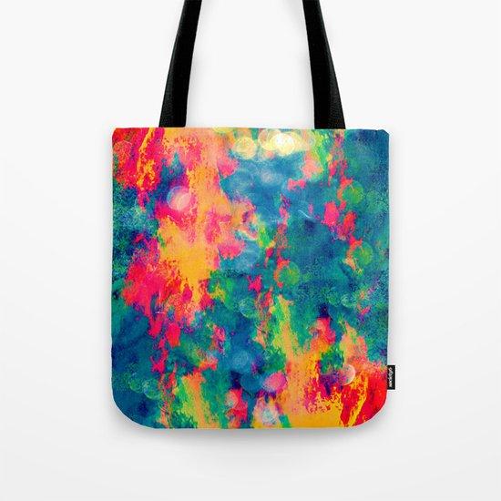 Summer Swirl Tote Bag