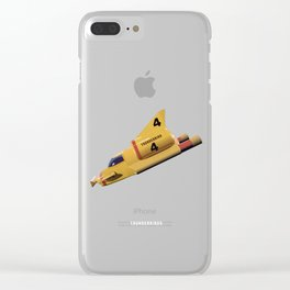 Thunderbirds TV Series Clear iPhone Case