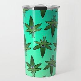 Weed Man Travel Mug