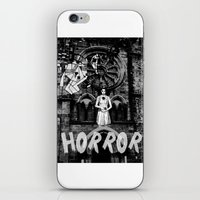 horror iPhone & iPod Skins featuring Horror by alexflasher
