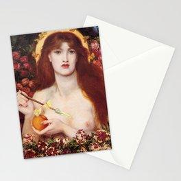VENUS VERTICORDIA - ROSSETTI Stationery Cards