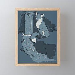 Fox River Framed Mini Art Print