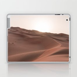 Sunset over the dunes Laptop & iPad Skin