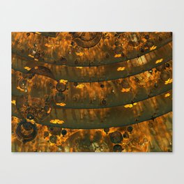 World Warp Elevators #1 Canvas Print