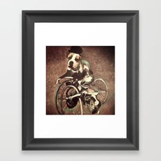 Francis Bacon Bicycle Bully Framed Art Print