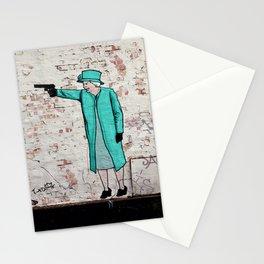 Street Art London Queen Thug Urban Wall Graffiti Artist Prolifik Stationery Cards