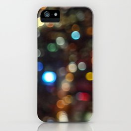 Skytower Bokeh iPhone Case