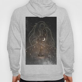 I see the universe in you. Hoody