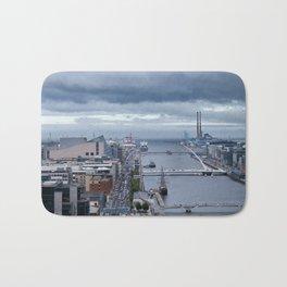 Samuel Beckett bridge aerial view Bath Mat