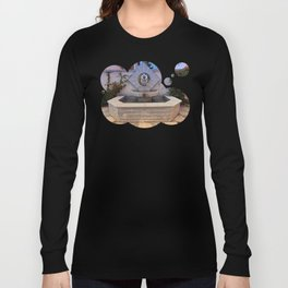 The village fountain of Kleinzell | architectural photography Long Sleeve T-shirt