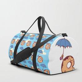 donut in air Duffle Bag