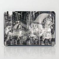 carousel iPad Cases featuring Carousel by Ibbanez
