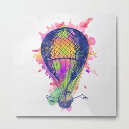 AP105 Hot air baloon Metal Print