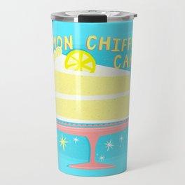All American Classic Lemon Chiffon Cake Travel Mug