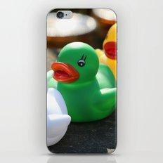 Three gummy ducks iPhone & iPod Skin