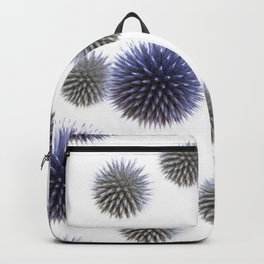 Echinops - Globe Thistles Pattern #1 #floral #decor #art #society6 Backpack