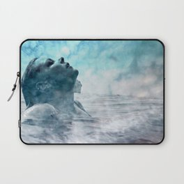 Swim under clouds Laptop Sleeve