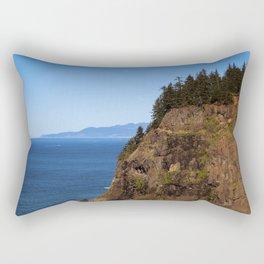 Where the Trees Meet the Sea Rectangular Pillow