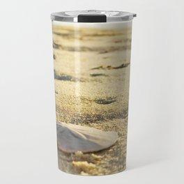 Sunrise Sand Dollar Travel Mug