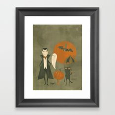 Soon Halloween Framed Art Print