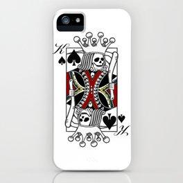 Imperator Mortuus Est (Red) iPhone Case