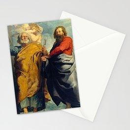 Peter Paul Rubens - Die Apostel Petrus und Paulus Stationery Cards