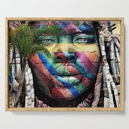 Graffiti Tribe Art Serving Tray