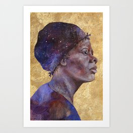 Women of Valor: Harriet Tubman Art Print