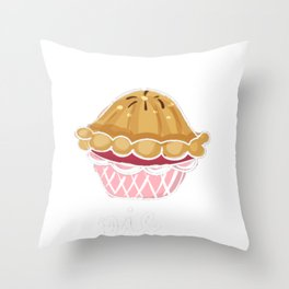 Nobody Likes a Soggy Bottom Great British Baking Challenge Throw Pillow