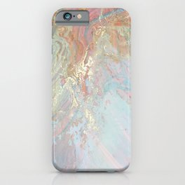 Marble Art V10 #society6 iPhone Case