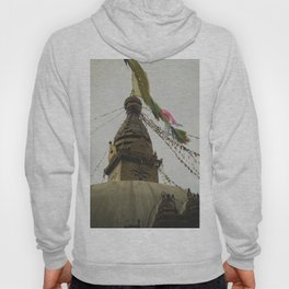 Exploring the City of Kathmandu in Nepal Hoody