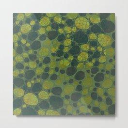 """Art Deco Abstract Crocodile"" Metal Print"