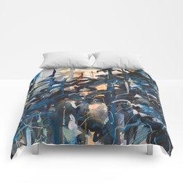 Blue Spruce (2), 2017. Comforters