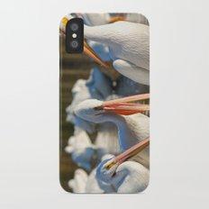 Three Birds Walk Into A Bar Slim Case iPhone X