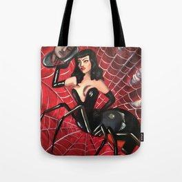 Spinderella Tote Bag