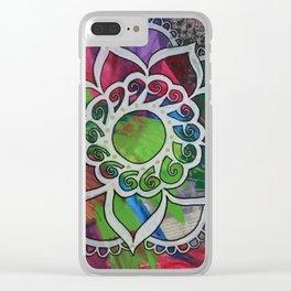 Mandala 99 Clear iPhone Case