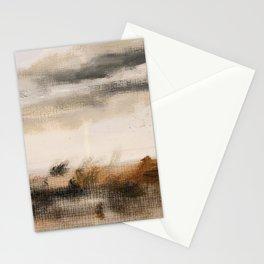Steppe landscape Stationery Cards