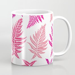 Inked Ferns – Blush Palette Coffee Mug