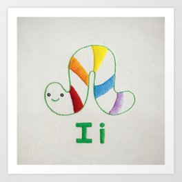 I Inchworm Art Print