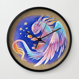 The heart of stars Wall Clock