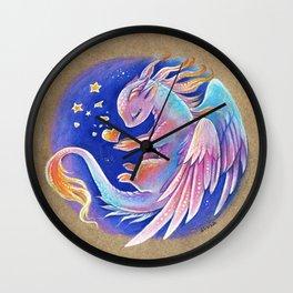 The heart of stars Wall Clock