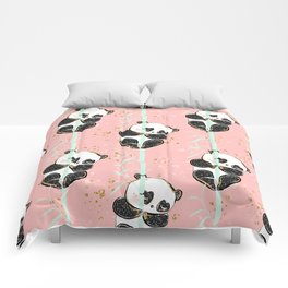 Panda Pattern 07 Comforters