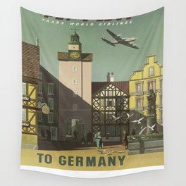 Vintage poster - Germany Wall Tapestry