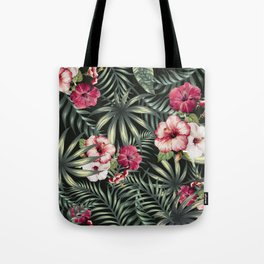 Tropical leave pattern 11.1 Tote Bag