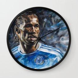 Didier Drogba Wall Clock