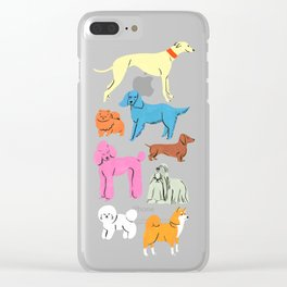 good bois Clear iPhone Case