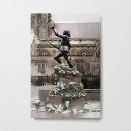 Richard The Third Re Burial Metal Print